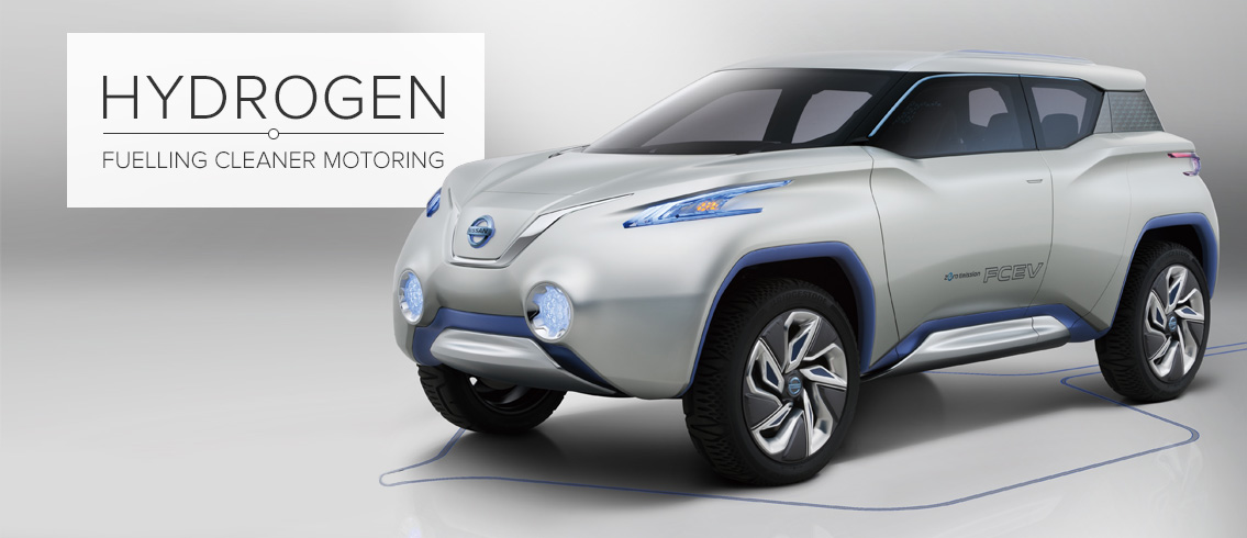 Nissan TeRRA FCEV Concept © Nissan