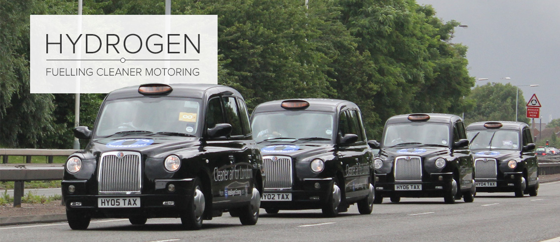 London Taxis Powered by Intelligent Energy Fuel Cell Systems © Intelligent Energy
