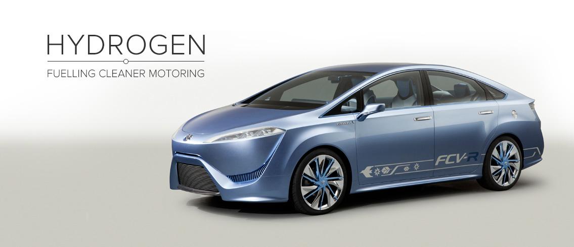 Toyota FCV-R Concept © Toyota