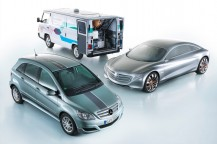 Daimler Fuel Cell Vehicles © Daimler