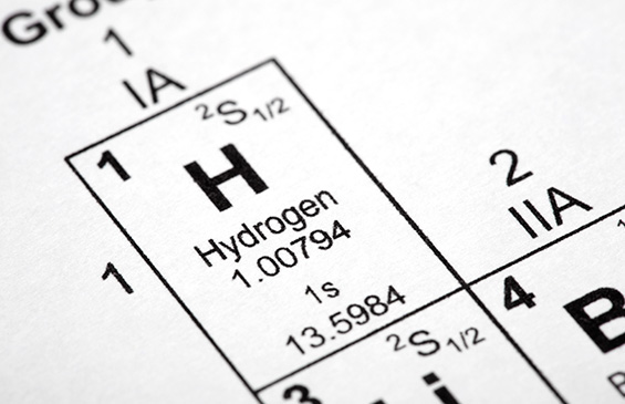 Hydrogen in the Periodic Table of Elements