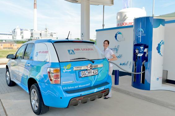 Air Liquide FCEV Refuelling © Air Liquide