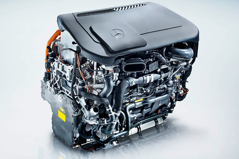 Fuel Cell Engine © Daimler