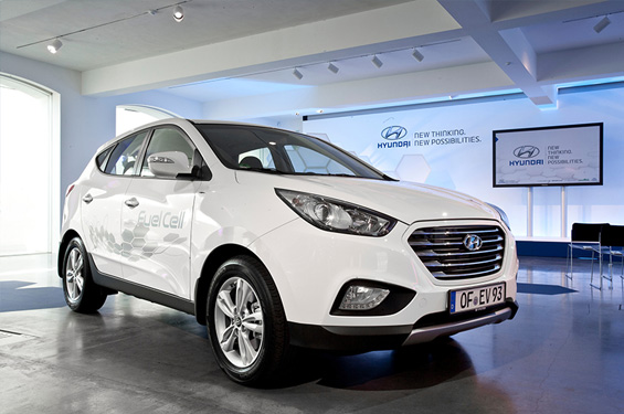 Hyundai ix35 Fuel Cell Vehicle © Hyundai