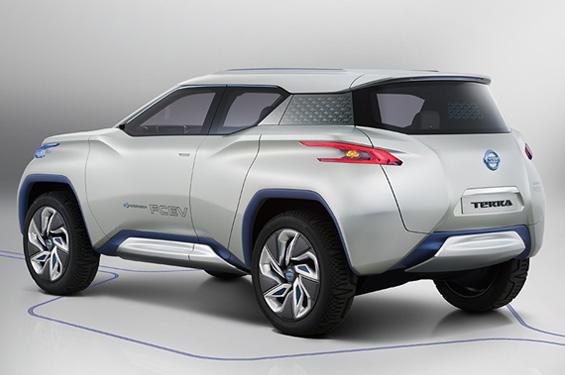 Nissan FCEV © Nissan
