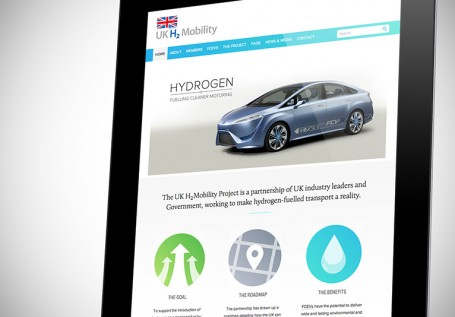 UK H₂Mobility Website
